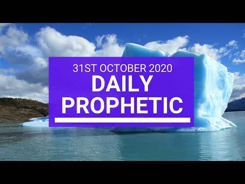 Daily Prophetic 31 October 2020 2 of 9 Daily Prophetic Word