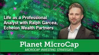 Life as a Professional Analyst with Ralph Garcea, Echelon Wealth Partners | SNN Network