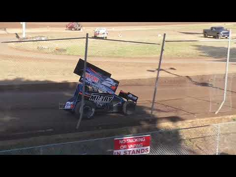 Cottage Grove Speedway Western Sprint Tour Speedweek Night #5 July 17th, 2021 - dirt track racing video image