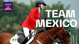 How Team Mexico's Newbie rocks the Longines FEI Jumping Nations Cup™l |Team in Focus