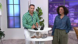 Vionic Leather Multi-Strap Sandals - Hailey on QVC