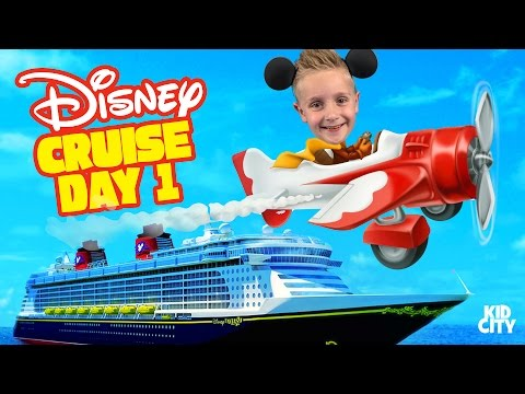 Kids on Disney Cruise Adventure Day 1! Fun Family Vacation & First Plane Ride Ever! - UCCXyLN2CaDUyuEulSCvqb2w
