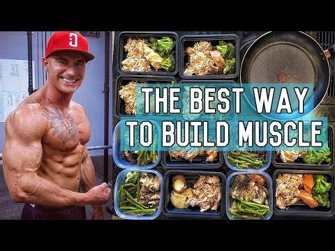 The Perfect Muscle Building Diet   3400 Calorie Lean Bulk Meal Plan