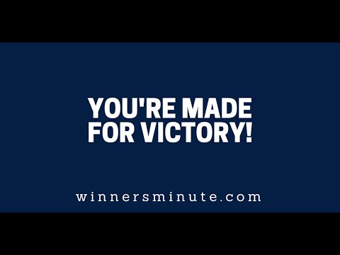 You're Made for Victory // The Winner's Minute With Mac Hammond