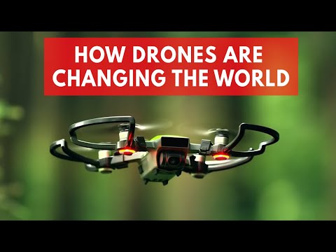 How drones are changing the world - UCI1H2wxkvshpCcUNNOEc4Gw