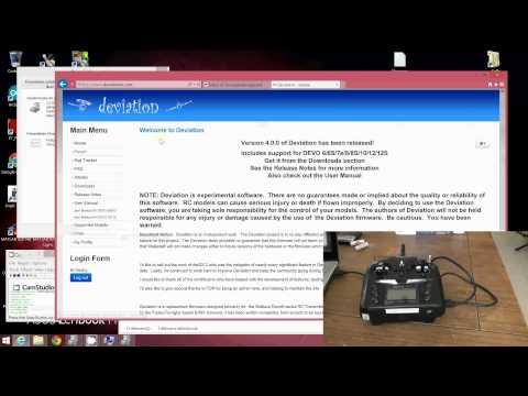 Devo7E tutorials: part2 - deviationTX installation - UC_aqLQ_BufNm_0cAIU8hzVg