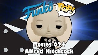 Director Alfred Hitchcock Funko Pop unboxing (Movies 624)
