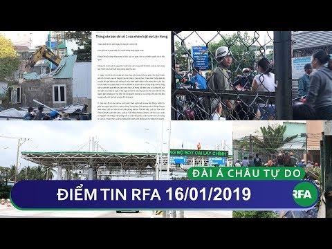 Điểm tin RFA tối 16/01/2019 | Nhóm 17 Luật sư Lộc Hưng lên tiếng:  Một số báo chí đưa tin một chiều!