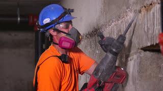 Akupuurvasar SDS-MAX Milwaukee M18 FUEL CHM-0 - ilma aku ja laadijata