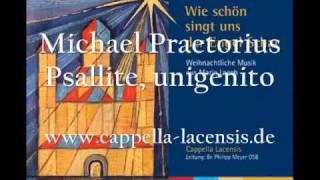 Michael Praetorius: Psallite unigenito!