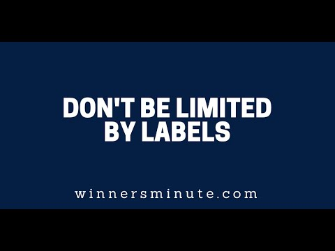 Dont Be Limited by Labels  The Winner's Minute With Mac Hammond