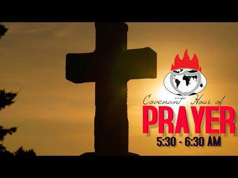 DOMI STREAM: COVENANT HOUR OF PRAYER   24, OCTOBER  2020