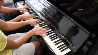 Two And A Half Men Theme Piano Duet