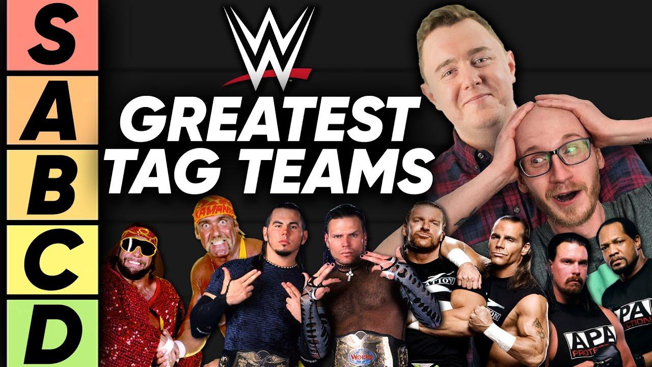 TIER LIST Greatest WWE Tag Teams