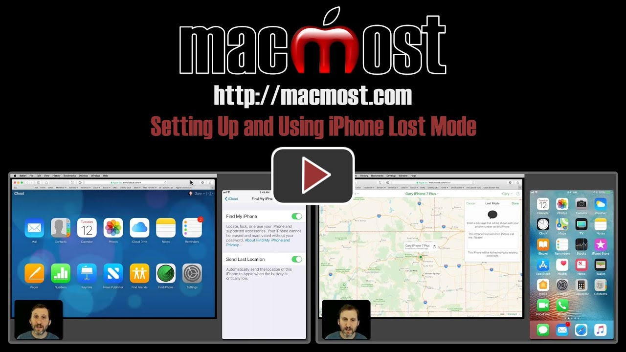 lost mode on iphone setting up and using iphone lost mode macmost 15657