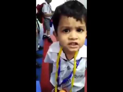 Child Singing A Lovely Song