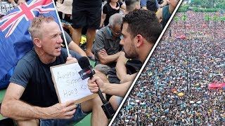 How this Aussie made my day at the MASSIVE Hong Kong protest