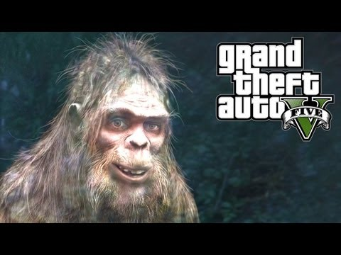 GTA 5 Easter Eggs - Bigfoot! (GTA V Easter Egg) - UC2wKfjlioOCLP4xQMOWNcgg