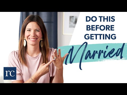 Never Get Married Before You Do THIS