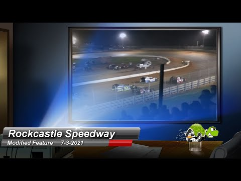 Rockcastle Speedway - Modified Feature - 7/4/2021 - dirt track racing video image