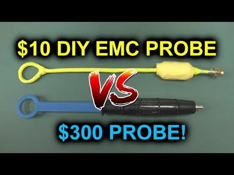 EEVblog #1178 - Build a $10 DIY EMC Probe - UC2DjFE7Xf11URZqWBigcVOQ