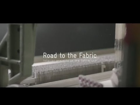 Road to the fabric: Interiorprojects in the TextielLab