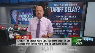Trump tariff delay short squeezed stocks, sparked a rally: Jim Cramer