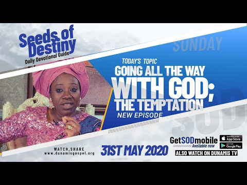 Dr Becky Paul-Enenche - SEEDS OF DESTINY  SUNDAY, 31 MAY, 2020