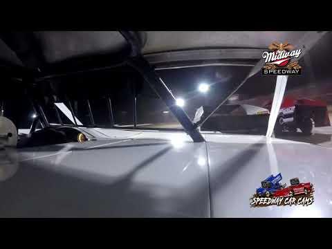 #71 Chris Tonoli - Usra B-Modified - 9-24-2021 Midway Speedway - In Car Camera - dirt track racing video image