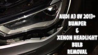 Sostituzione faro anteriore Audi A3 8V