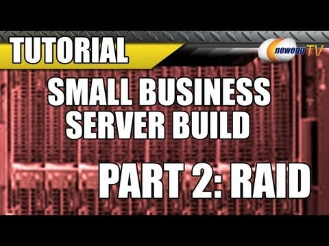 Newegg TV: Small Business Server Build with Intel & Microsoft (Part 2: RAID) - UCJ1rSlahM7TYWGxEscL0g7Q