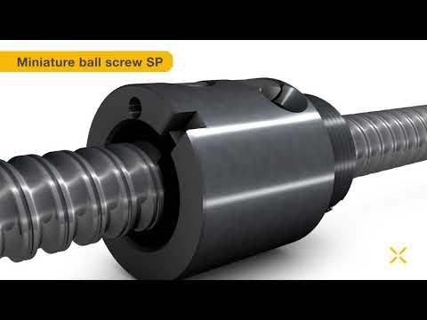 Ewellix - Miniature ball screw series SP