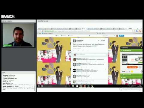 #02 How to generate leads via Social Media? | Webinars with Mick Griffin | Brand24