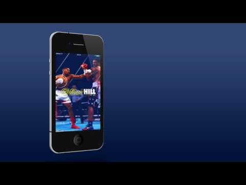 The William Hill iPhone App Widget