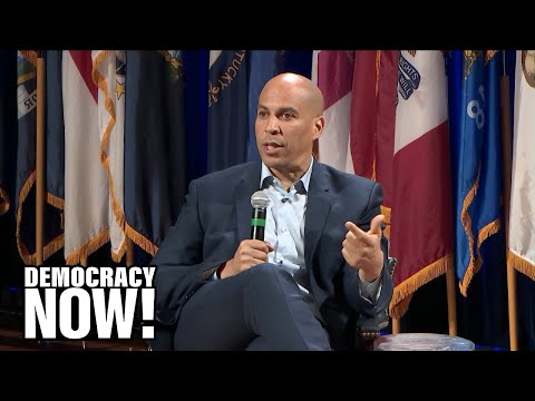 """Sen. Cory Booker on Environmental Justice, Nuclear Power & """"Savage Racial Disparities"""" in the U.S."""