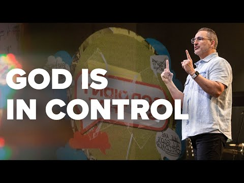 God is in Control  Pastor Michael Turner