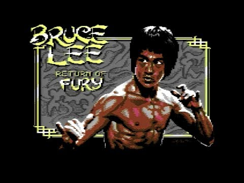 C64 REAL 50hz - Jugando un par de Horas al Bruce Lee: Return of Fury