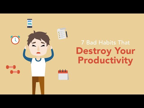 7 Bad Habits That Are Destroying Your Productivity  Brian Tracy