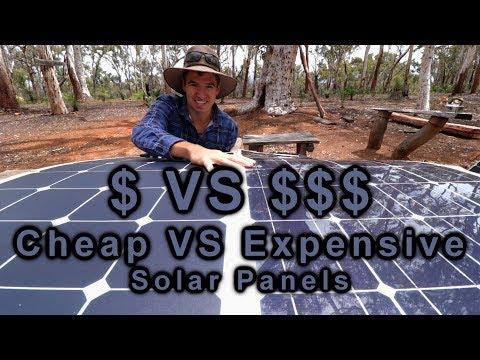 Cheap VS Expensive Solar Panels | 12v Touring | Project Cyan - UCFoV9izIemDaDLg3qDRMIng