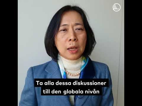 Akiko Ito om det nordiska funktionshinderssamarbetet (Funktionshindersdagen 2017)