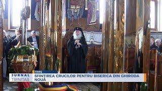 Sfintirea crucilor pentru biserica din Ghiroda Noua