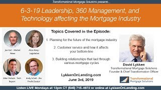 6-3-19 - Leadership, 360 Management and Technology affecting the MI