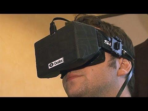 Oculus Rift Virtual Headset is a Game Changer - CES 2013 - UCKy1dAqELo0zrOtPkf0eTMw