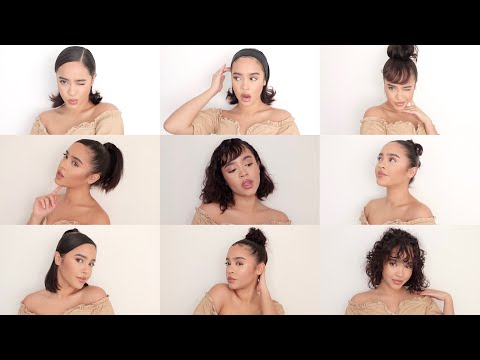 TOP 10 CUTE NEW HAIRSTYLES YOU NEED TO TRY! FOR SHORT AND LONG HAIR | Maria Bethany - UCzj41PvS6wpzs4JkXTY0ikA