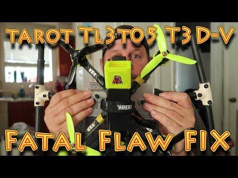 Tarot TL3T05 Tarot T 3D V Fatal Flaw Fix - Retrax Review!!!(10.29.2019) - UC18kdQSMwpr81ZYR-QRNiDg