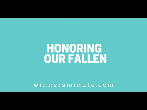 Honoring Our Fallen // The Winner's Minute With Mac Hammond