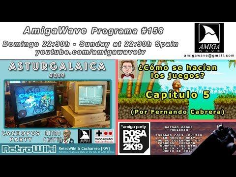 AmigaWave #158 - Invitro Posadas 2k19,  ¿cómo se hacían ... ? Parte 5 y resumen Asturgalaica 2019.