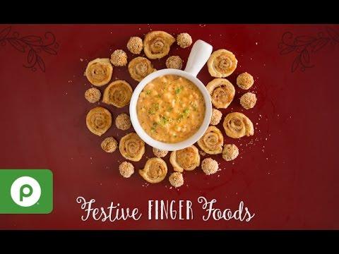 Festive Finger Foods. A Publix Aprons recipe.