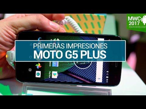 Moto G5 Plus, primeras impresiones en MWC 2017