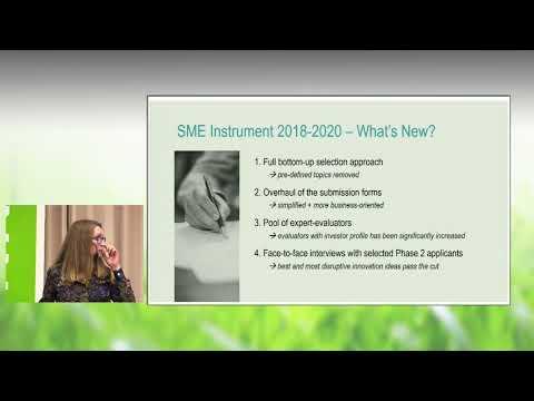 Informationsmöte om finansieringsmöjligheter inom IKT och hälsa i Horisont 2020, del 4